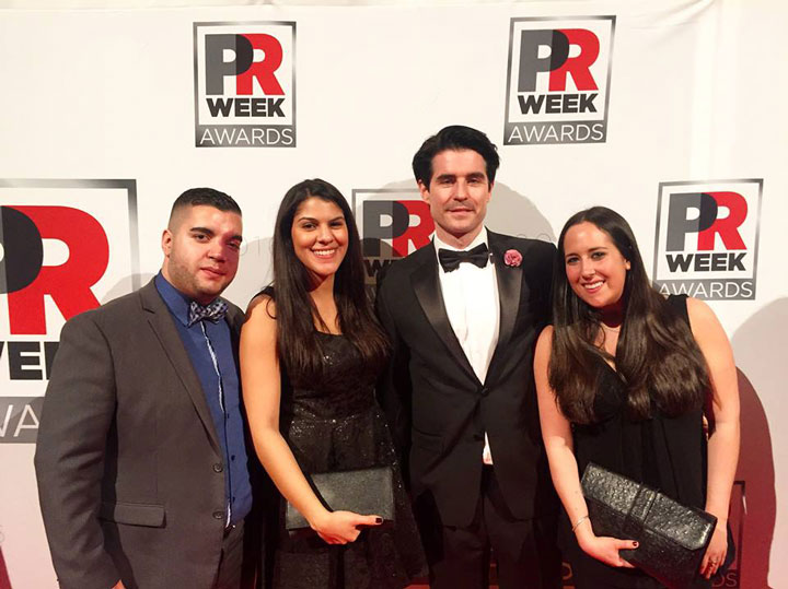 PR Week Awards - Capstone Hill Search team