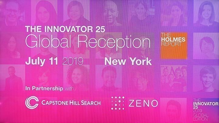 Holmes Innovator 25 Global Reception